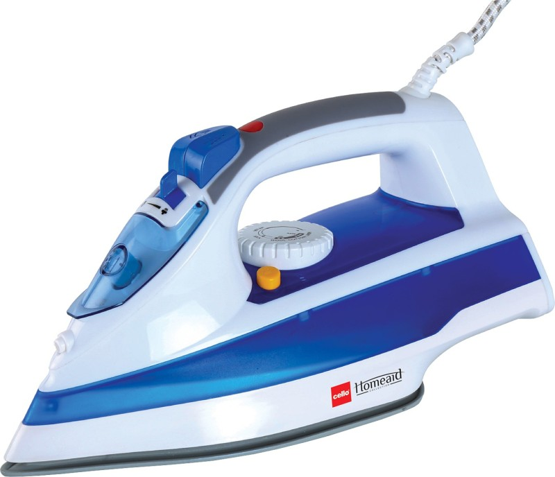 Cello 500 Steam Iron(White and Blue)