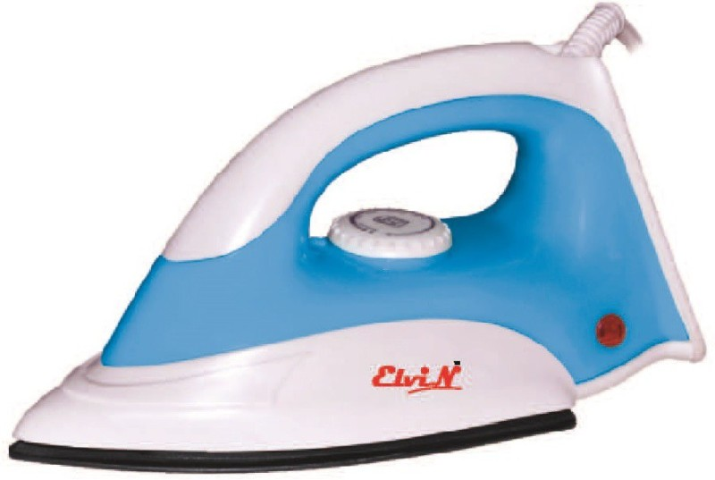 Elvin Dolphin Light Weight Electric 750 W Dry Iron(Blue, Multicolor)
