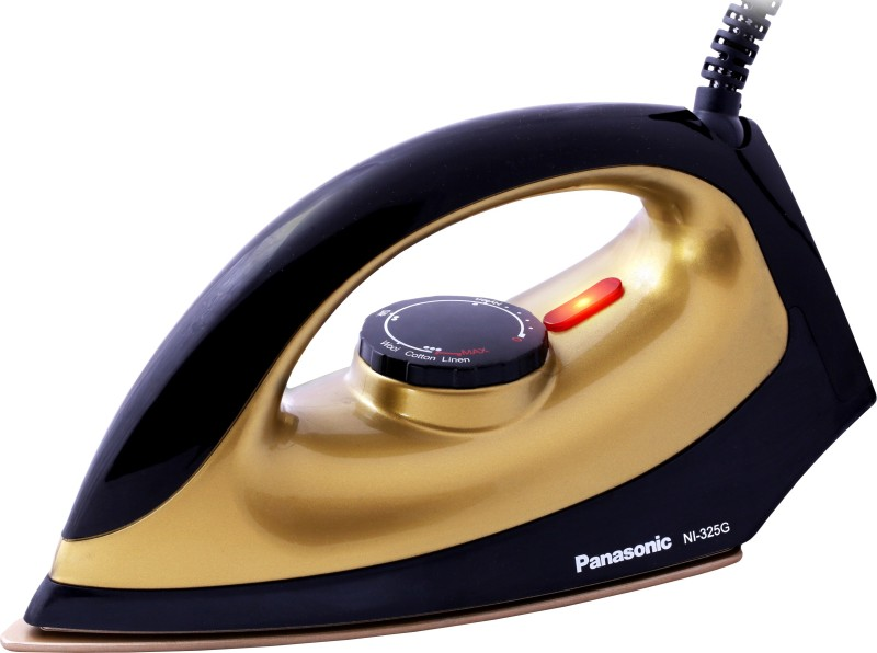 Panasonic NI-325G 1100 W Dry Iron(Golden and Black)