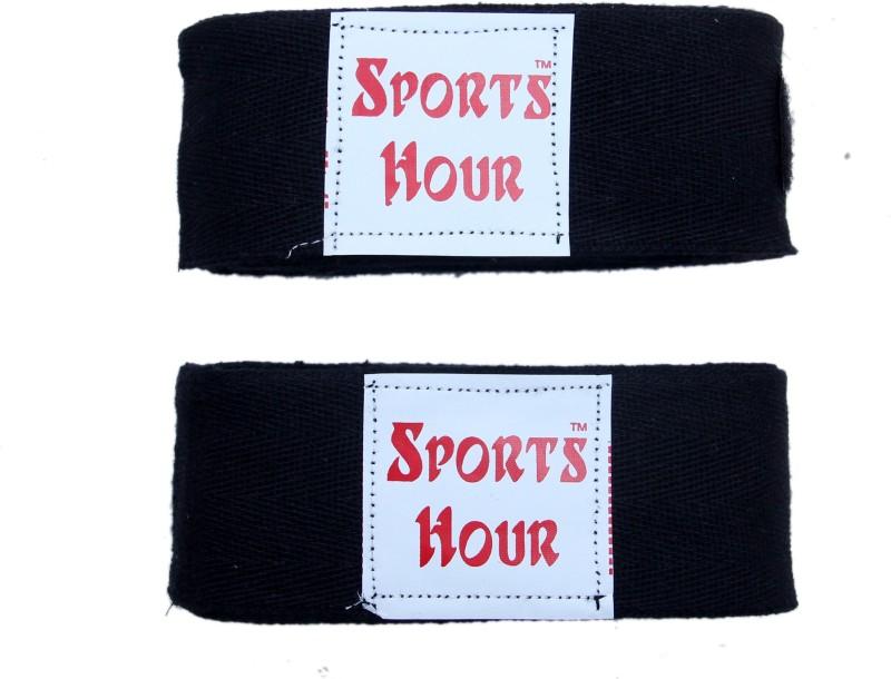 Sportshour BL-4.5M Black Boxing Hand Wrap(Black, 450 cm)