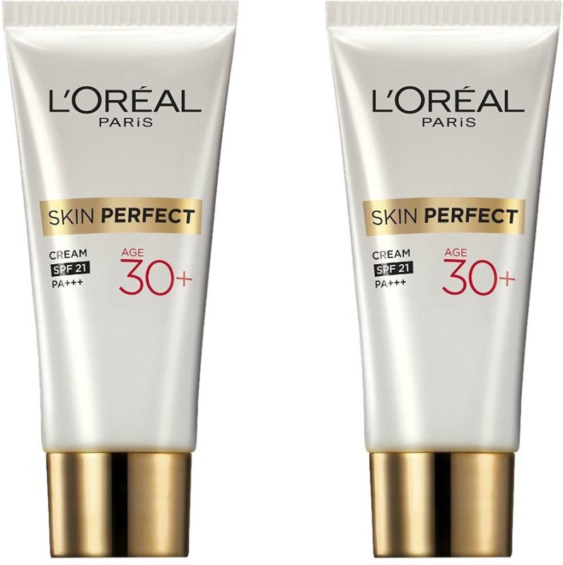 LOreal Paris Skin Perfect Anti-Fine Lines Whitening Age 30+ Pack of 2(18 g)
