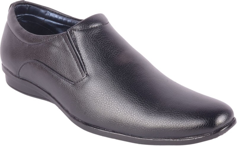 ShoeAdda Slip On(Black)
