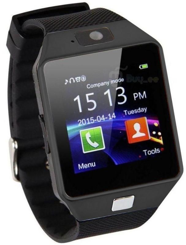 HealthMax HMS02-BK phone Black Smartwatch(Black Strap Regular)