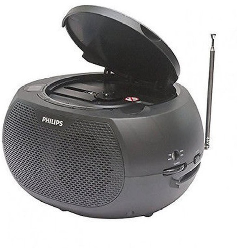 Philips AZ380/94 Boom Box(Black)