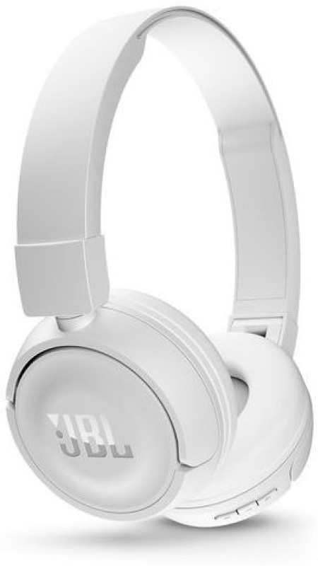 JBL T450BT Headset with Mic(White, Over the Ear)