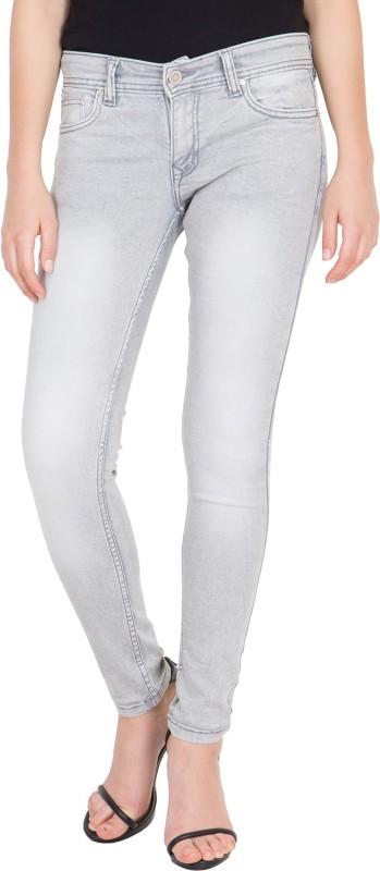 Kopyneko Skinny Women White, Grey Jeans