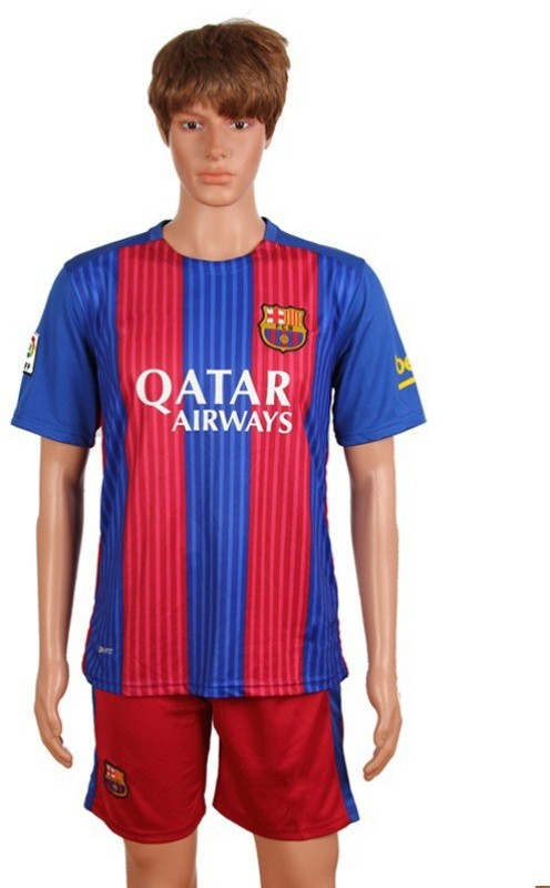 Navex Football Jersey Barcelona Red And blue Size:42( Extra Large) Football Kit