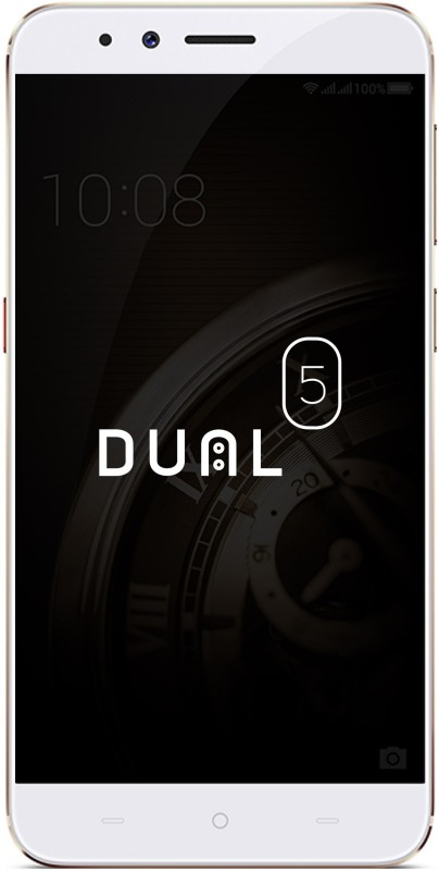 Micromax Dual 5 (Champagne, 128 GB) Now ₹24999