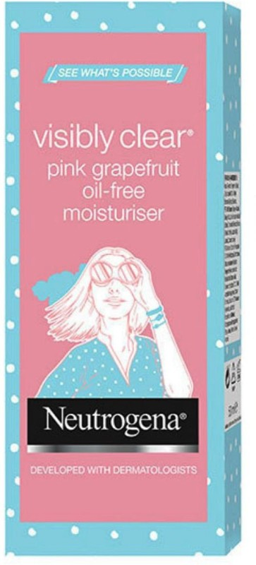 Neutrogena Visibly Clear Pink Grapefruit Oil-Free Moisturiser Imported(50 ml)