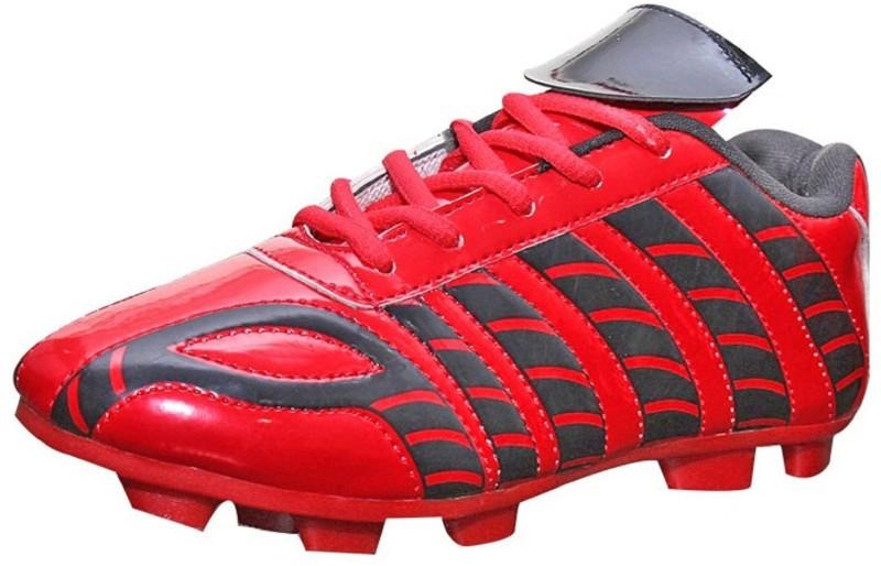 Port Dragnov Football Shoes For Men(Red, Black)