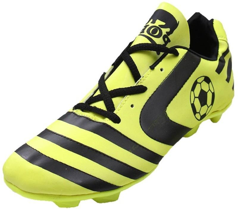 Port Classic Football Shoes For Men(Green, Black)