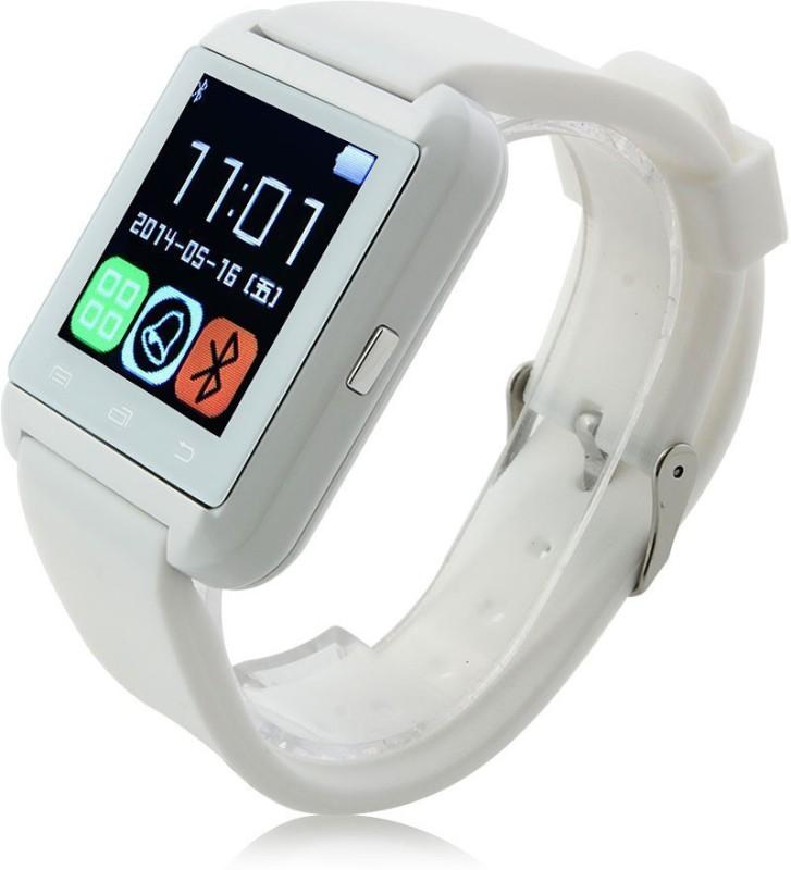 WDS U8 White Smartwatch(White Strap Regular)