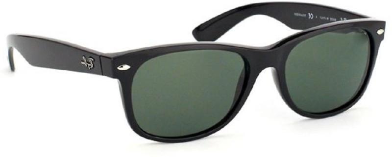 Suncare Wayfarer Sunglasses(Black) image