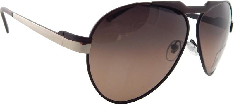 Matrixx Aviator Sunglasses(Brown) image