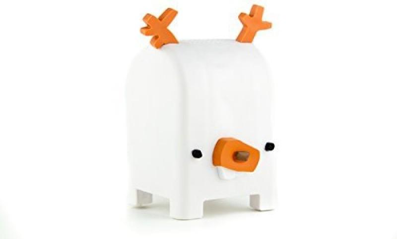 Toymail Free Voice Messaging for Kids, Buck the Deer Mailman 899175001284 Walkie Talkie(White)