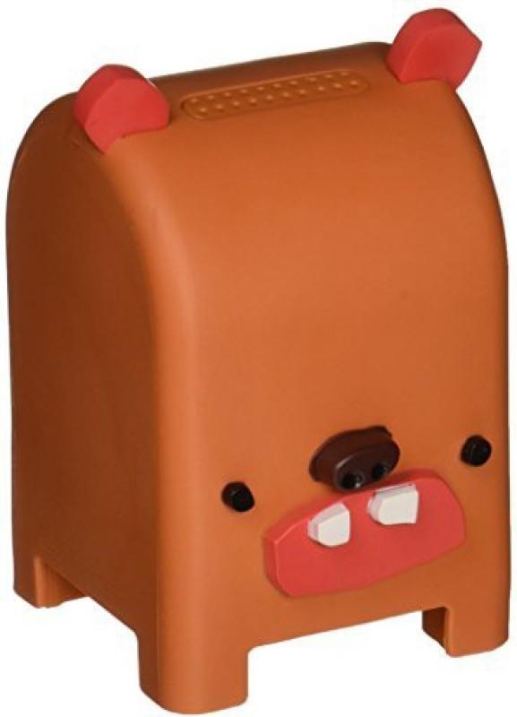 Toymail Free Voice Messaging for Kids Milksop the Bear Mailman 899175001253 Walkie Talkie(Brown)