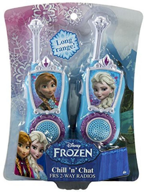 KIDdesigns Disney Frozen KIDdesigns Chill n Chat FRS 2-Way Radios FR-210 Walkie Talkie(Multicolor)