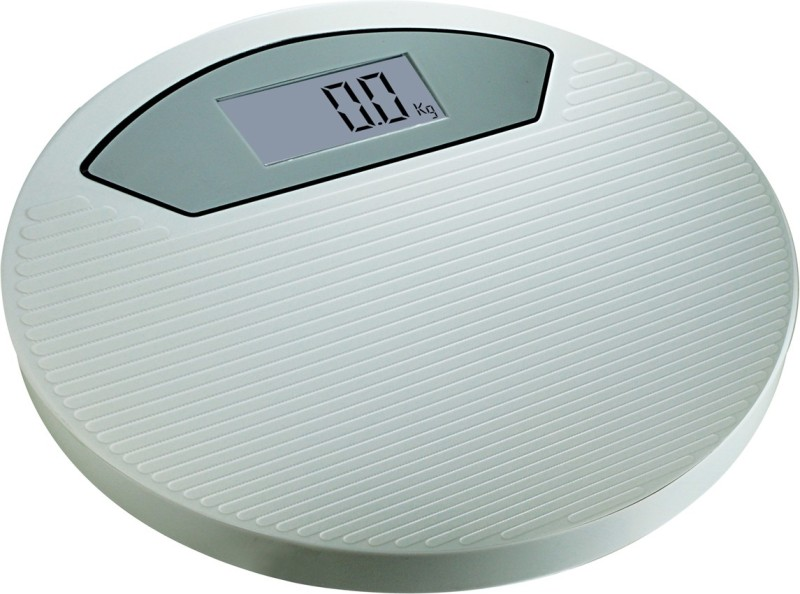 Zblack White Bathroom Digital Iron Body 150 kg Weighing Scale(White, Grey)