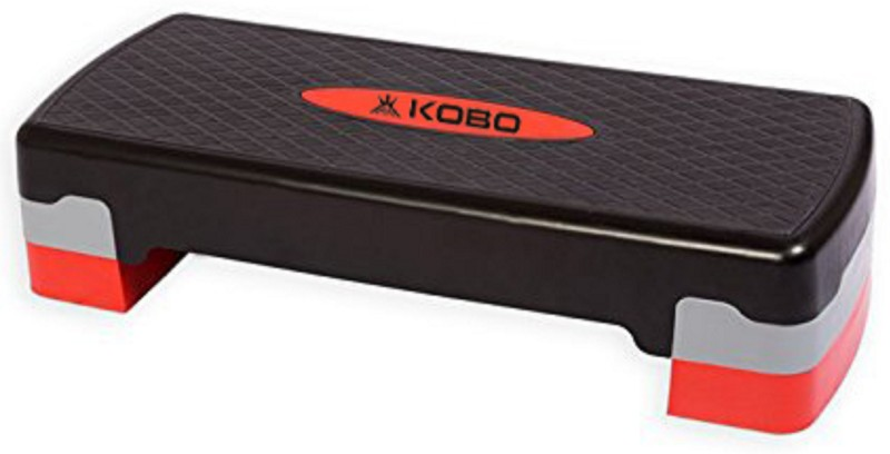 Kobo Aerobic step Small Stepper(Black, Red)