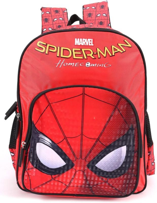 Marvel School Bag(Red, 16 inch)