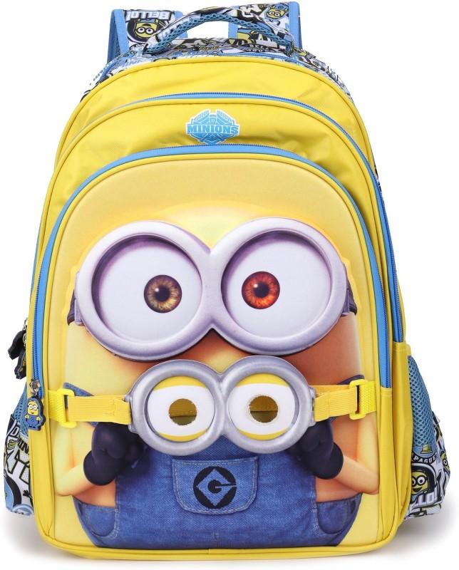 Despicable Me School Bag School Bag(Multicolour, 18 inch)