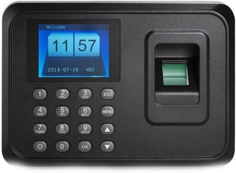 Gadget Heros Biometric FingerPrint Based Machine with USB Plug & Transfer 3A Time & Attendance(Fingerprint, Password)
