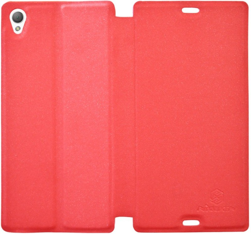 COVERNEW Flip Cover for Sony Xperia Z3(Red, Flip Cover)