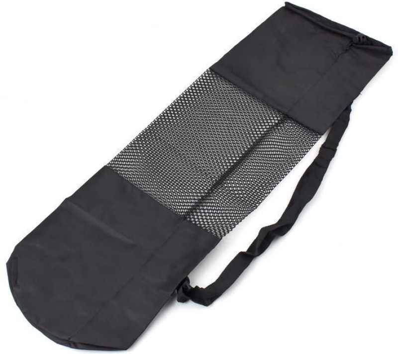 Futaba Yoga Mat Carrier Shoulder Bag(Black, Drawstring Bag)