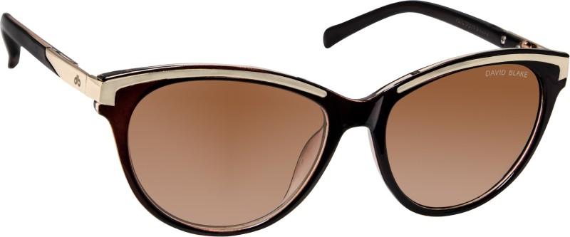 David Blake Cat-eye Sunglasses(Brown) image