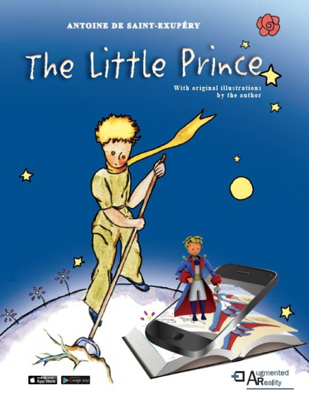 The Little Prince with Augmented Reality(English, Hardcover, Antoine De Saint-Exupery, Bonnie Tse)