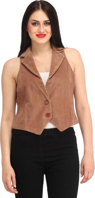 Xpose Sleeveless Solid Women Jacket