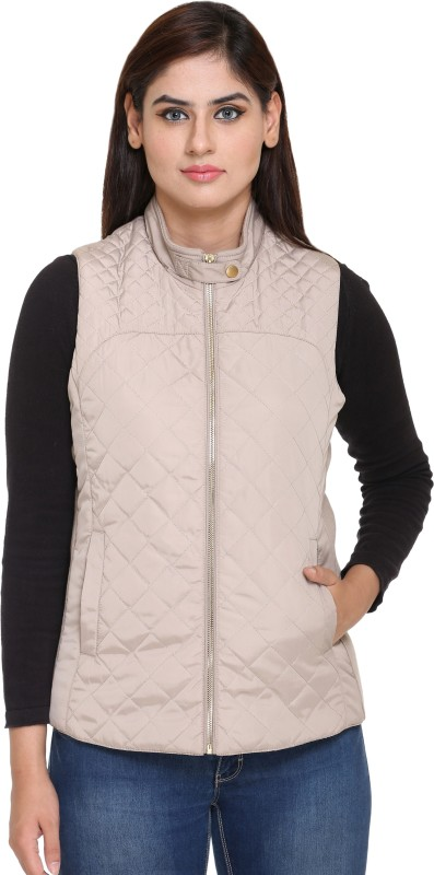 Trufit Sleeveless Solid Womens Jacket