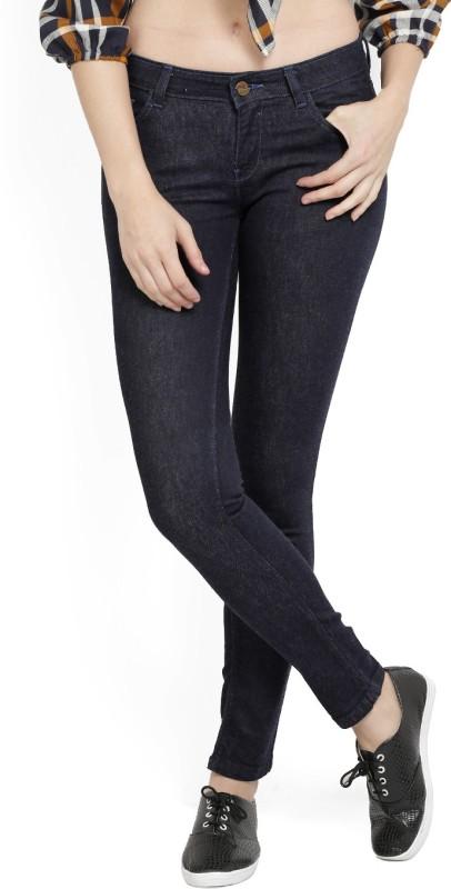 Jealous Slim Women Black Jeans