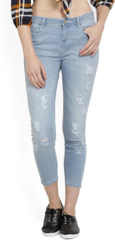 Jealous Skinny Women Light Blue Jeans