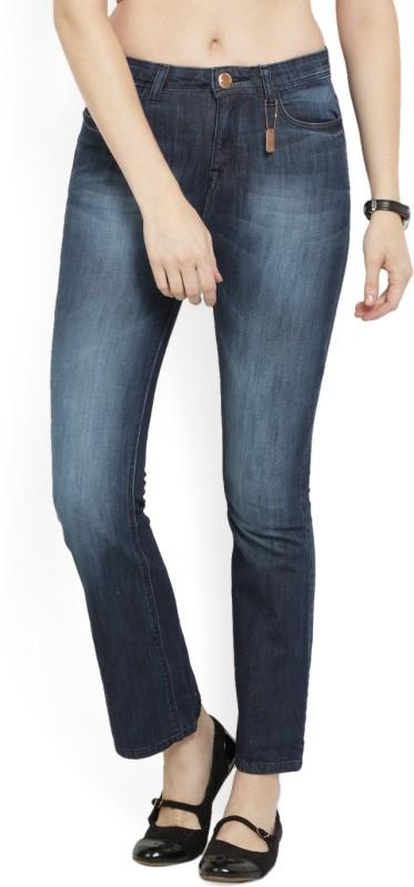 Jealous Slim Women Dark Blue Jeans