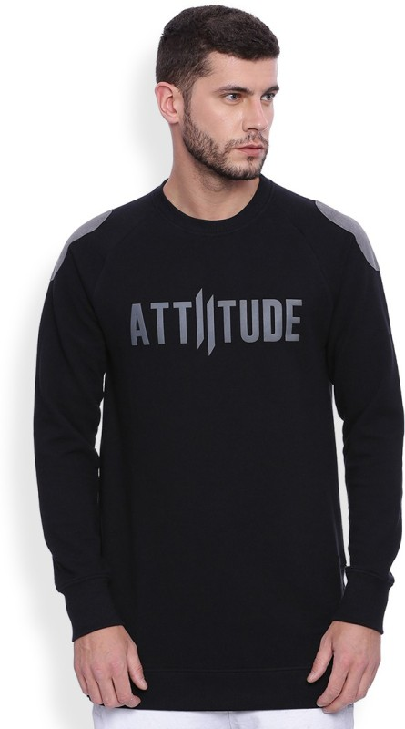 ATTIITUDE Full Sleeve Graphic Print Men's Sweatshirt