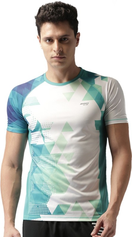 3. 2Go Printed Men Round Neck Multicolor T-Shirt