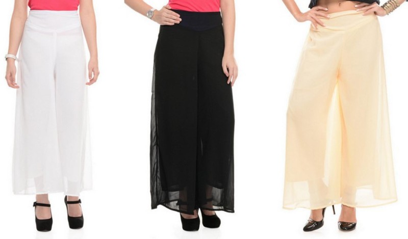 Stop Look Regular Fit Women Black, White, Beige Trousers