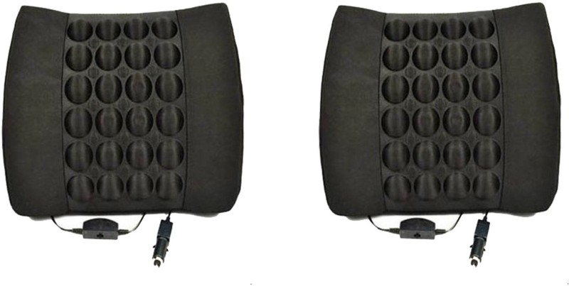 Auto Hub Cushion Seating Pad For Universal For Car Universal For Car(Front Seats, Rear Seats Black)