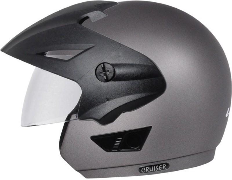 Vega Cruiser W/P Motorbike Helmet(Dull Anthracite)