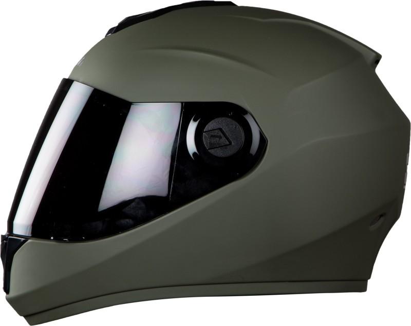 Steelbird SBH-11 Motorbike Helmet(Matt Battle Green)