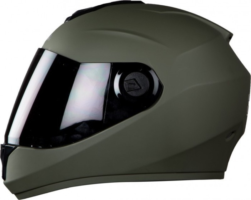 Steelbird SBH-11 Motorbike Helmet(Matt Battle Green)