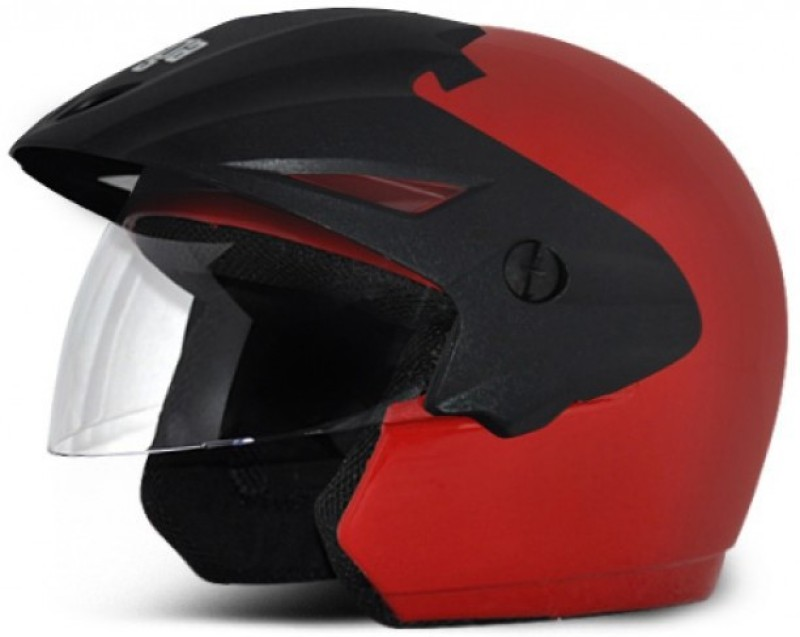Vega Cruiser W/P Motorbike Helmet(Dull Red)