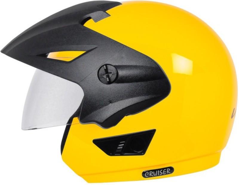 Vega Cruiser W/P Motorbike Helmet(Yellow)