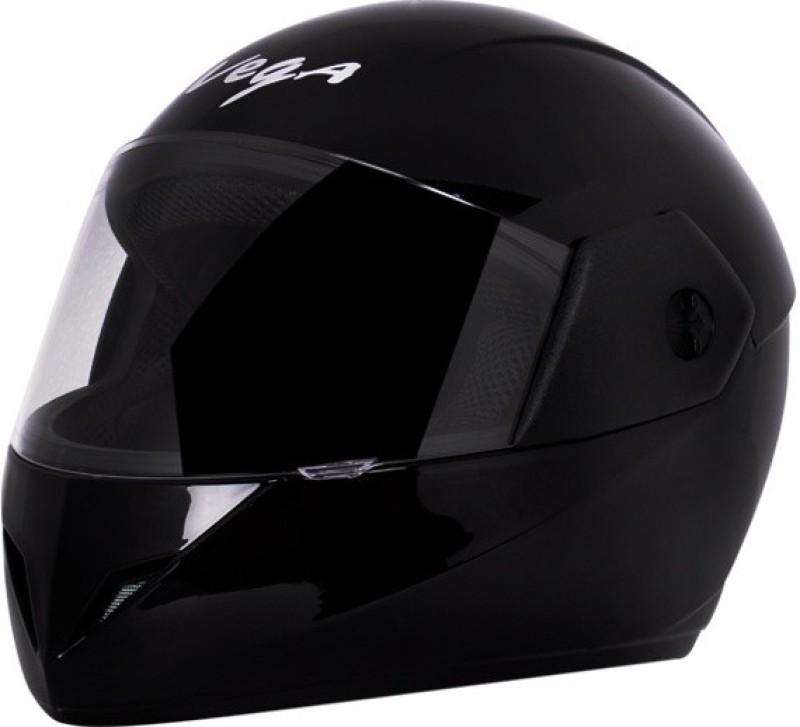 VEGA Cliff Dx Motorbike Helmet(Black)