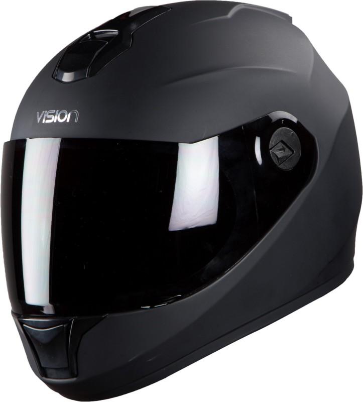 Steelbird SBH-11 Dashing Motorbike Helmet(Matt Black)