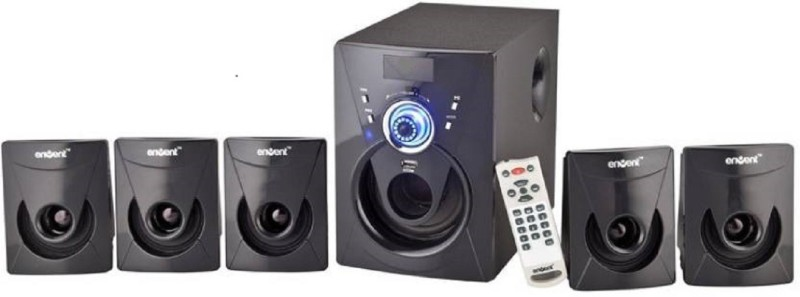 Envent DeeJay 702 Home Audio Speaker(Black, 5.1 Channel)