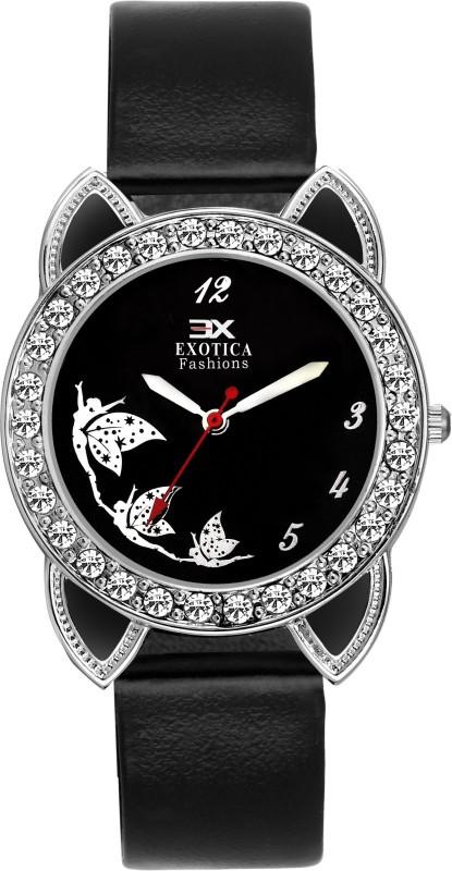 Exotica Fashion EFLM-01-Black Girl's Watch image