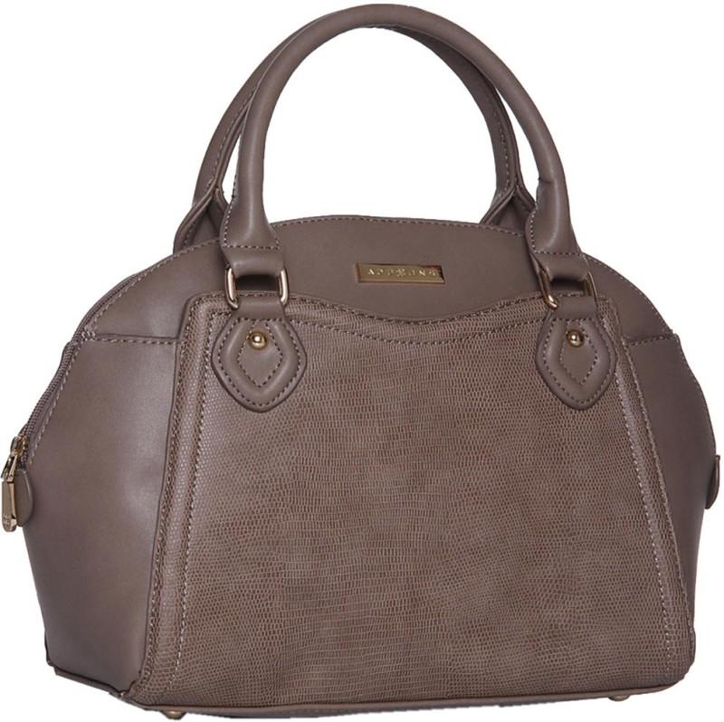 Addons Tonal Textured Cord detailed Duffle Shoulder Bag(Grey, 5 L)