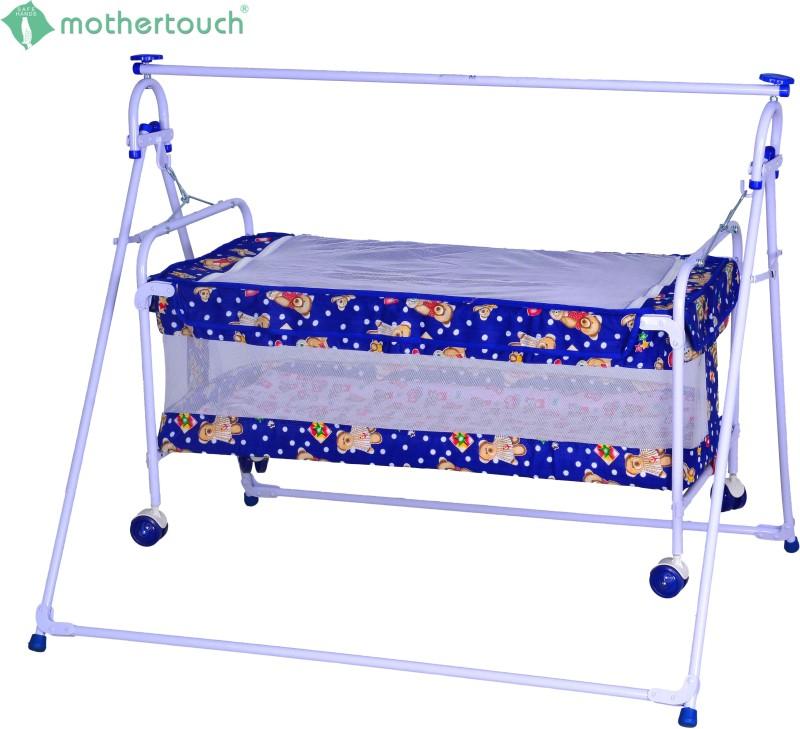 Mothertouch Baby Cradle Cum Cot(Blue)